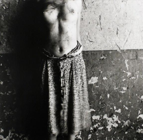 Dirty Torso for Ted, c. 1978 Gelatin silver print, printed c. 1978 7 3/4 x 7 5/8 inches