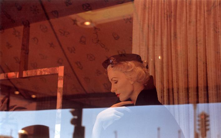Harry Callahan Providence, c. 1963 Dye transfer print, printed later. 7 1/8 x 10 1/2 inches