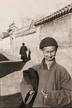 Henri Cartier-Bresson, Eunuch of the Imperial Court of the Last Dynasty, Peking, China, December, 1948 p.p1 {margin: 0.0px 0.0px 0.0px 0.0px; font: 12.0px Helvetica}