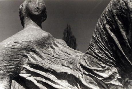 Detail of Draped Reclining Figure, 1953 Gelatin silver print, printed c. 1953 7 x 10 1/2 inches