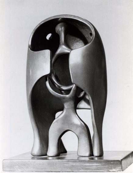 The Helmet, 1940 Gelatin silver print, printed c. 1955 7 1/4 x 5 3/4 inches