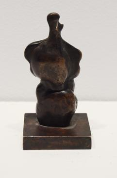 Henry Moore (1898-1986) Three-Quarter Women, 1983 Bronze with brown patina 3 3/4 x 2 x 1 3/4 in. (9.5 x 5.1 x 4.5 cm)