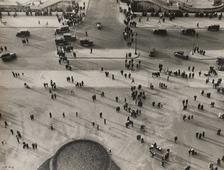 Champ de Mars, 1931 Gelatin silver print mounted to original scrap board, printed c. 1931 8 3/8 x 11 1/8 inches