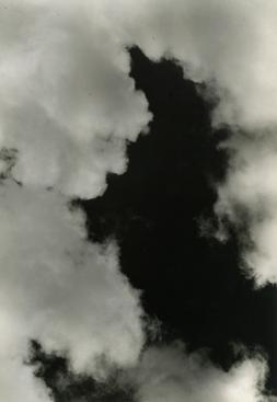 Imogen Cunningham Cloud Study, 1939 Gelatin silver print mounted to board, printed c.1939 9 1/4 x 6 1/2 inches