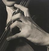 The Hands of Gérald Warburg, Violinist, 1929 Gelatin silver print mounted to board, printed c. 1950s 9 1/8 x 9 1/4 inches
