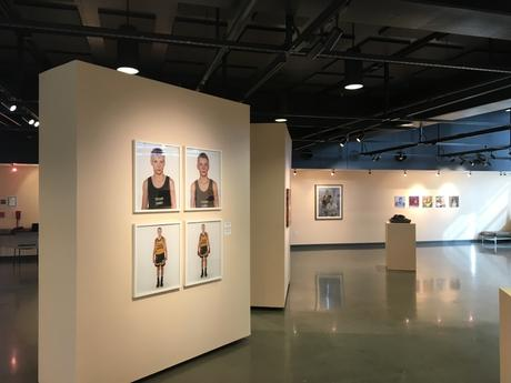 Installation view - On the Ropes/ in the Kisser, Coastline Community College