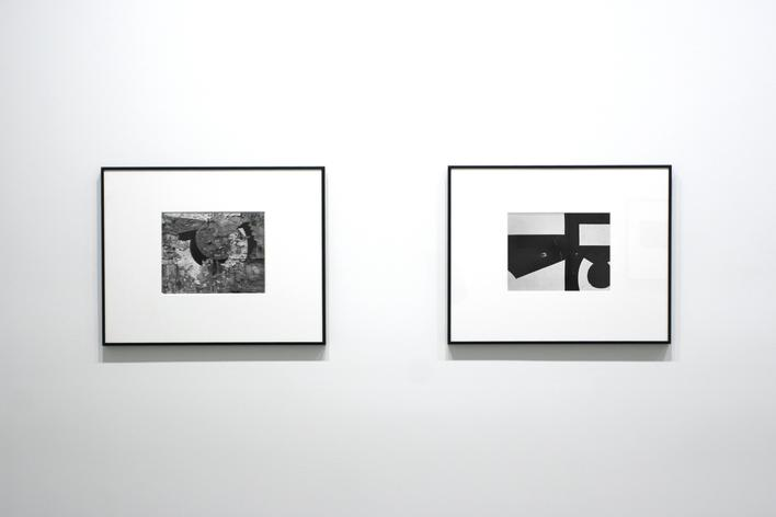 Aaron Siskind photographs