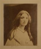 Mary Ryan, c. 1965-66 Albumen print mounted to board, printed c. 1866 13 1/4 x 10 1/2 inches