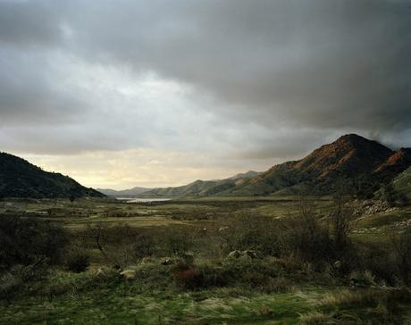 Dusk, California, 2007 Chromogenic print 40 x 50 inches