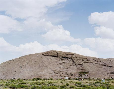 Independence Rock, Yellowstone Park, Wyoming, 2007 Chromogenic print 40 x 50 inches
