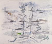 John Marin  Small Point, Maine, 1915    Watercolor on paper. 15 1/2 x 18 1/4 inches