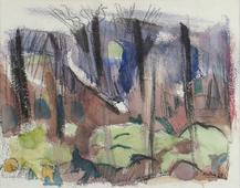 John Marin  Landscape, 1925    Watercolor on paper. 12 1/2 x 16 inches