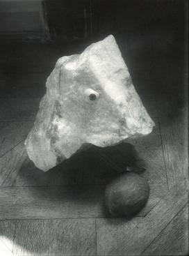 Eye on Stone, c. 1950 Gelatin silver print, printed c. 1950 11 3/4 inches x 9 1/2 inches