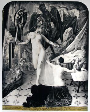 Retablo, New Mexico, 2007 Gelatin silver print mounted to board 33 3/8 x 27 5/8 inches
