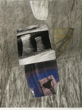 Untitled, 2006 Collage mounted to board. 20 x 16 inches