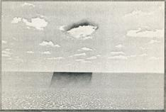 Untitled, Landscape Series, 1970 Xerox and graphite mounted to board 14 1/2 x 12 inches