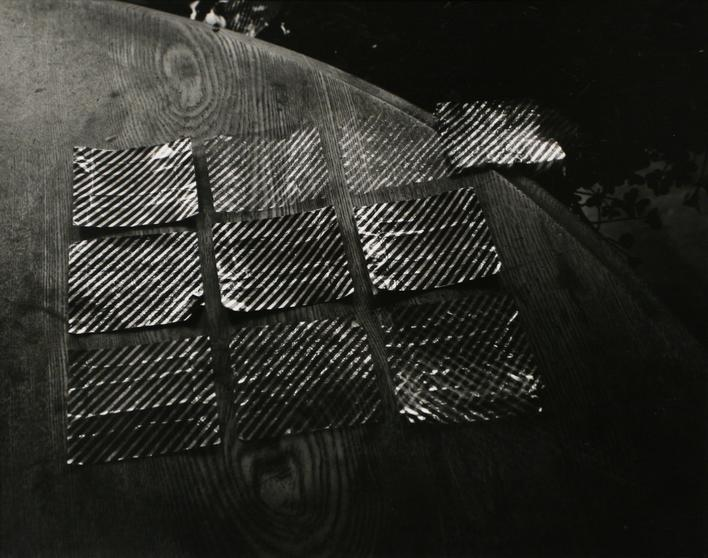 Candy Wrappers, 1965 Gelatin silver print, printed c. 1965. 7 1/2 x 9 1/4 inches