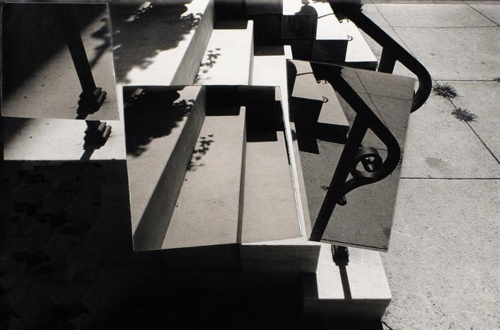 Baltimore Steps, 1995 Collage, gelatin silver print, printed c. 1995. 14 x 19 1/2 inches