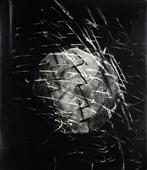 Untitled #5, from Nine Imaginary Oil Spills, 1995 Cliche verre, gelatin silver print mounted to board, printed c. 1995. 24 x 20 inches