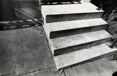 Baltimore Steps, 1994 Gelatin silver print, printed c. 1944. 14 x 19 1/2 inches