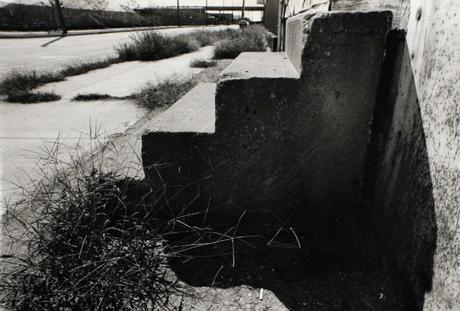 Baltimore Steps, 1994 Gelatin silver print, printed c. 1994. 13 x 18 inches
