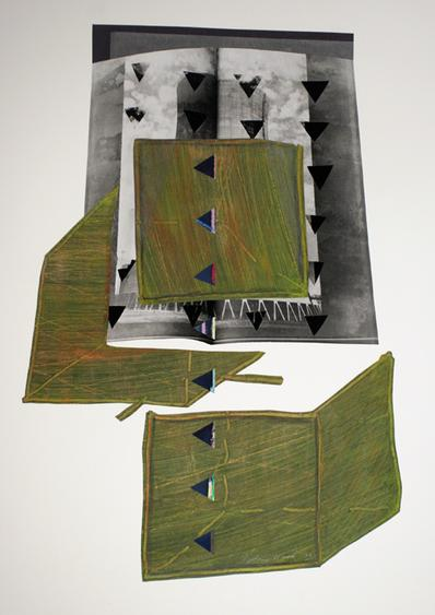 Cooling Tower: With What Will We Store Our Waste, 1991     Collage 17 5/8 x 14 1/8 in.