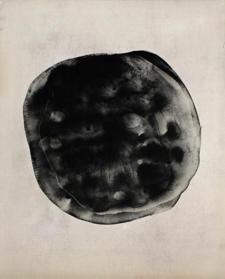 Untitled #7, from Nine Imaginary Oil Spills, 1995 Cliche verre, gelatin silver print, printed c. 1995. 24 x 20 inches