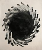 Untitled #8, from Nine Imaginary Oil Spills, 1995 Cliche verre, gelatin silver print, printed c. 1995. 24 x 20 inches