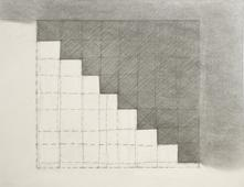 Baltimore Steps Drawing, 1994 Graphite. 11 x 14 inches