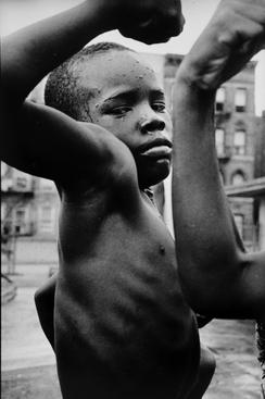 Harlem, New York, 1963 Gelatin silver print, printed later 11 x 14 inches
