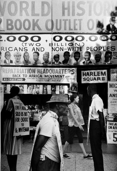 Black in White America, New York City, 1963 Gelatin silver print, printed c.1963 13 1/2 x 9 inches