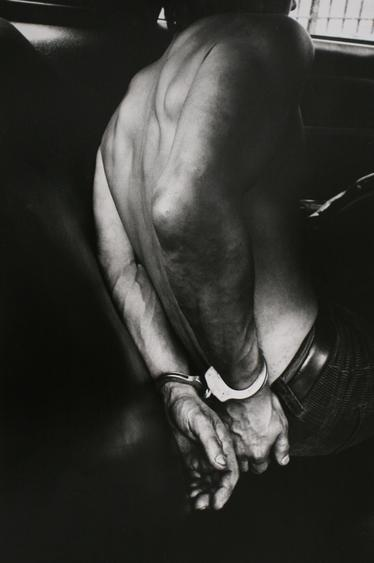 Police Work, New York City, 1978 Gelatin silver print, printed c. 1978 16 x 12 inches