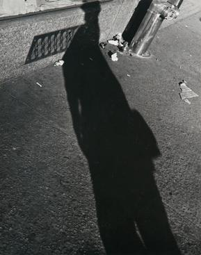 Lisette Model Shadows, 1940-41 Gelatin silver print, printed c. 1960s 13 3/8 x 9 7/8 in.