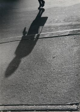 Lisette Model Shadows, Woman with Handbag, 1940-41 Gelatin silver print, printed 1960s 13 5/8 x 10 1/4 in.