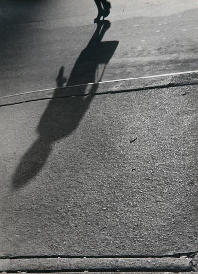 ​Lisette Model Shadows, 1940-41 Gelatin silver print, printed 1960s. 13 5/8 x 10 1/4 inches