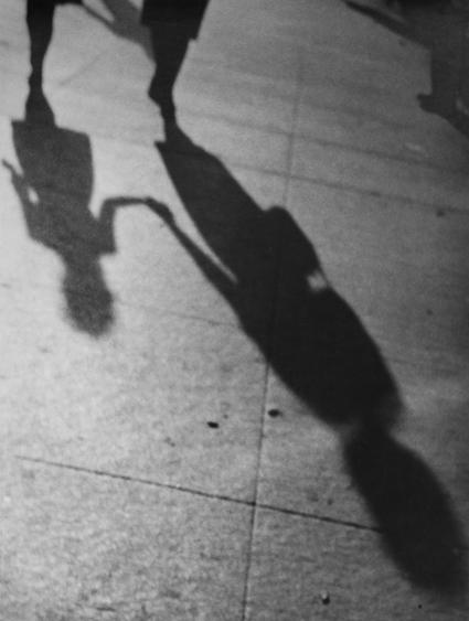 ​Lisette Model Shadows, 1940-1941 Gelatin silver print, printed c. 1960s. 13 1/2 x 10 3/4 inches