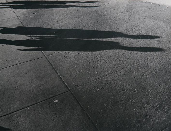 ​Lisette Model Shadows, 1940-41 Gelatin silver print, printed c. 1960s. 13 5/8 x 9 7/8 inches