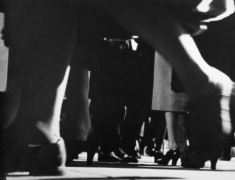 ​Lisette Model Running Legs, Forty-Second Street, New York, 1940-41 Gelatin silver print, printed c. 1950. 10 7/8 x 13 7/8 inches