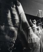 ​Lisette Model Reflection, New York, 1939-1945 Gelatin silver print, printed c. 1939-1945. 13 x 11 inches