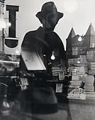 First Reflection, New York, 1939-40 Gelatin silver print, printed c. 1940. 13 1/2 x 10 3/4 inches