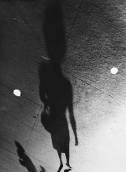​Lisette Model Shadows, 1940-41 Gelatin silver print, printed c. 1960s. 13 5/8 x 9 3/4 inches