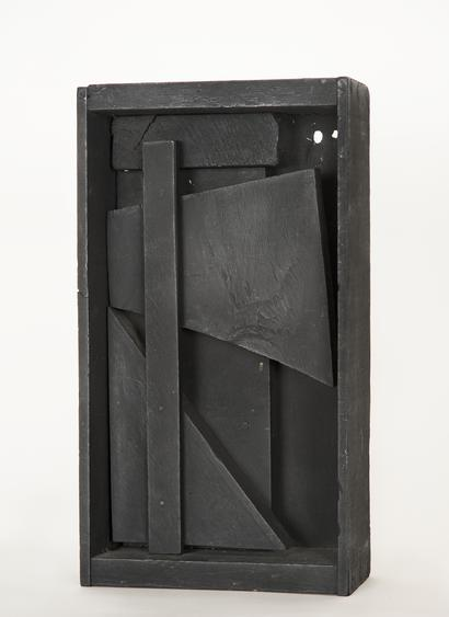Louise Nevelson  Untitled, 1959     Painted wood. 11 1/2 x 5 x 3 inches