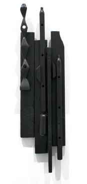Louise Nevelson  Sky City, 1959 Painted wood. 47 1/2 x 12 1/2 x 4 inches