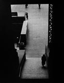 Lower Level Staircase, Penn Station, New York, 1951 Gelatin silver print, printed later 14 x 11 inches