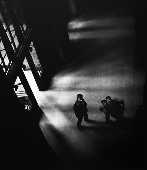 Penn Station, New York, 1951 Gelatin silver print, printed later 14 x 11 inches