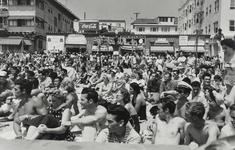Watching a Contest, Muscle Beach, Santa Monica, CA, 1954 Gelatin silver print, printed later 14 x 17 in. (36 x 43 cm) Signed, titled, and dated on recto $3,500 Inquire
