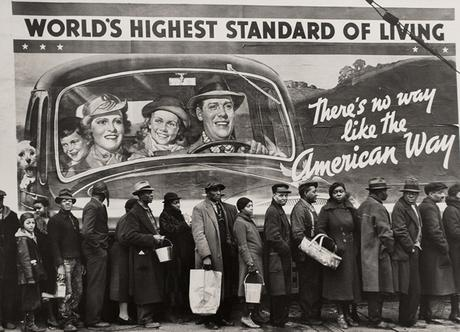 The Louisville Flood (The American Way), 1937 Gelatin silver print 9 3/4 x 13 3/8 inches