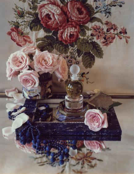 Tea Rose, 1984     Polaroid. 5 1/4 x 4 1/4 inches