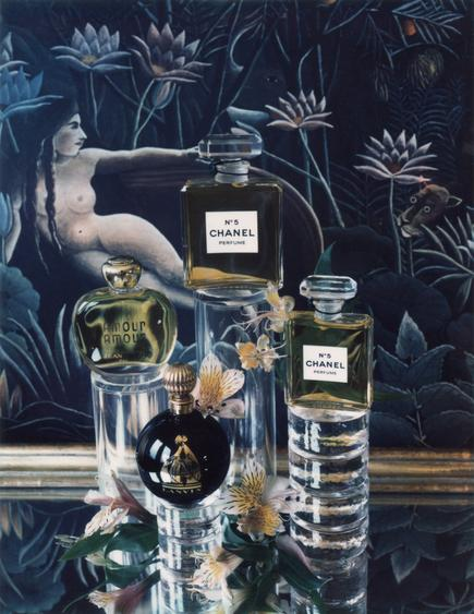 Fragrance, 1984     Polaroid. 5 1/4 x 4 1/4 inches