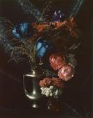 Floral with Peter's Brass Vase, Boston, 1965     Polaroid. 5 1/4 x 4 1/4 inches